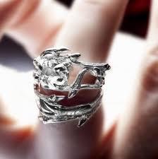 elvish wedding rings elvish herkimer ring twigs and