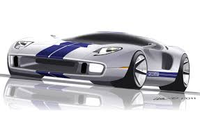 futuristic cars drawings exclusive future ford gt design by camilo pardo