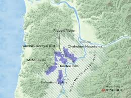 Salem Oregon Map by Tips On Finding Great Oregon Pinot Noir Wine Folly