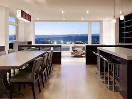 Transitional Pendant Lighting Kitchen - dvi lighting dining room modern with neutral colors transitional