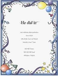 graduation party invitation wording cloveranddot