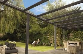 terrasse transparente travaux terrasse couverte transparente