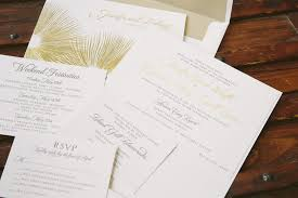 Foil Wedding Invitations Contemporary Gold Foil Wedding Invitations Bella Figura