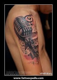 microphone tattoo designs tattoo ideas pictures tattoo ideas