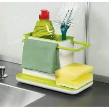 Kitchen Sink Brush 3 In 1 Stand For Kitchen Sink For Dishwasher Liquid Brush From