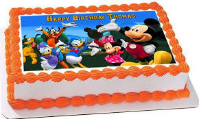mickey mouse clubhouse birthday cake mickey mouse clubhouse 4 edible cake topper cupcake toppers