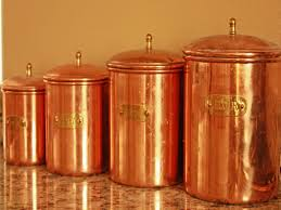 copper kitchen canisters best kitchen canisters ideas southbaynorton interior home