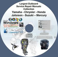 largest outboard service repair manuals collection on dvd yamaha