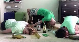Drunk Yoga Meme - 35 irish yoga poses that only take a bottle of jameson to master