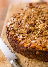 caramelized almond cake recipe