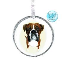 boxer ornament boxer boxer pet memorial