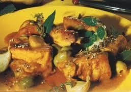 cuisine corse veau aux olives recette sauté de veau aux olives de corse