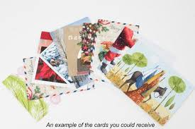 christmas cards breast cancer care