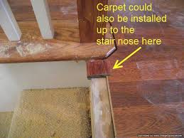 Best Flooring For Stairs Installing Laminate On Top Stair To Carpet