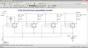 digital electronic circuit simulation