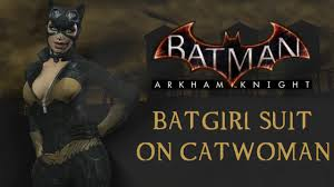 batman arkham city halloween costumes skin batman arkham city batgirl suit on catwoman youtube
