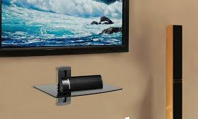 Tv Wall Mounts With Shelves Argom Tv Wall Mount Shelf Groupon Goods