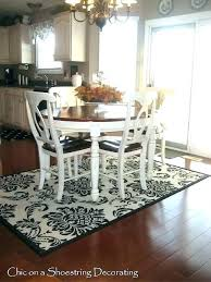what size rug under dining table rug under kitchen table rug under dining table size rug for under