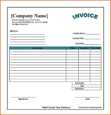 Invoice Templates For Excel Invoice Template Excel Free Invoice Term