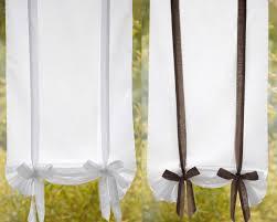 rideaux de cuisine originaux voilage droit voilage en pointe brise bise store becquet