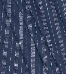 nate berkus litton stripe paramount dark blue upholstery fabric
