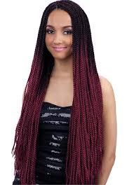 model model crochet hair model glance crochet braid senegal twist