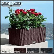 cottage weave deck rail planter box planters decking and