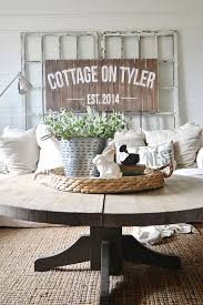 cottage style round coffee tables 234 best coffee table styling images on pinterest living room