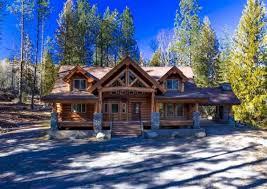 luxury log homes yellowstone log homes
