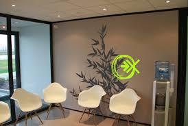 idee couleur bureau idée décoration murale pour un bureau