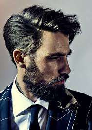 good hair and beard very few men are able to pull this off but