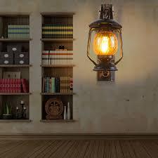 wooden antique lantern american country european retro living room
