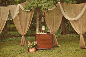 Smocked Burlap Curtains Curtain Ideas Using Burlap Decorate The House With Beautiful