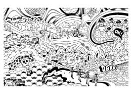 psychedelic 2 psychedelic coloring pages for adults justcolor