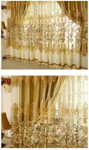 on sale curtains luxury beaded for living room tulle blackout