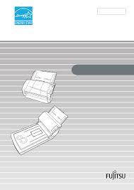 il manuale d u0027uso fujitsu fi 5120c scanner