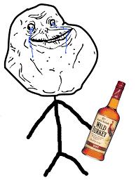 Forever Alone Girl Meme - forever alone hearing through the grapevine