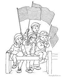 Hand Washing Coloring Sheets - free printable memorial day coloring page 002