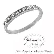 melbourne wedding bands antique rings melbourne klepner s antique jewellery