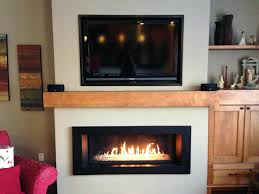 ventless fireplace insert electric gas with blower home depot