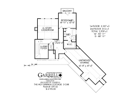 Rustic House Plans by Springs Cottage 3 Car House Plan House Plans By Garrell