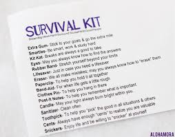 book for high school graduate alohamora open a book high school graduate diy survival kit diy