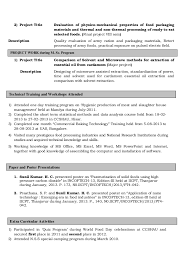 radiologic technologist resume skills food technologist cv toreto co