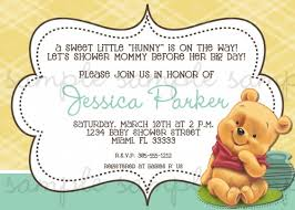 winnie the pooh baby shower invitations the pooh baby shower invitations