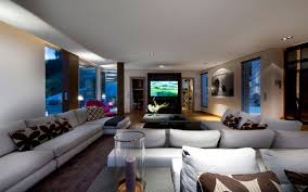luxury dream home in mediterranean paradise architecture beast living room interior in modern villa in france