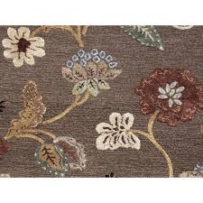 Floral Pattern Rugs Jaipur Living Rug113448 Blue Coll Hand Tufted Floral Pattern Wool