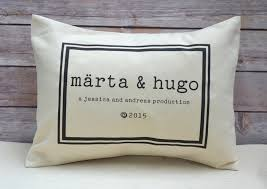 personalized pillows for baby baby personalized pillow for or individual babies the
