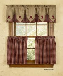 inspiration country kitchen curtains and valances wonderful