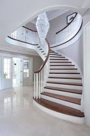 Home Stairs Decoration Beautiful Entry Love The Curved Stairs And Staircase Entryways