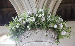 mail flowers pippa middleton wedding flowers fill church where she wed daily